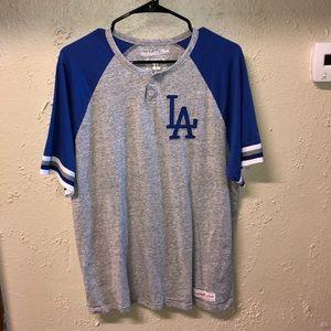Los Angeles Dodgers Mitchell & Ness Retro Tee